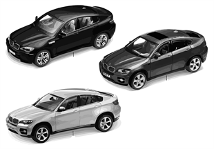 BMW Miniaturen — BMW X6 2010/11