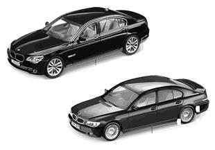 BMW Miniaturen - BMW 7er Reihe 2010/11