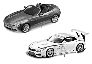 BMW Miniaturen — BMW Z4
