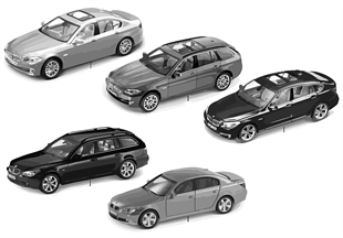 BMW Miniaturen - BMW 5er Reihe 2010/11