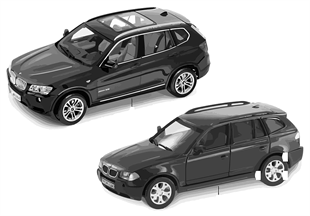 BMW Miniaturen — BMW X3 2010/11