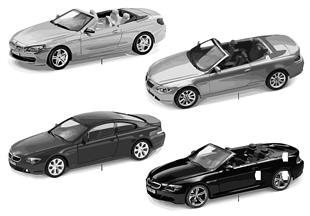 BMW Miniaturen - BMW 6er Reihe 2010/11