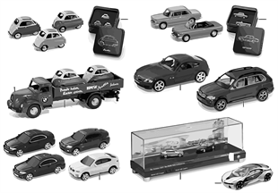 BMW Miniaturen — Sets 2010/11