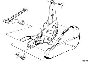 Κάθισμα μπροστά-μηχανισμ.ανάκλισ.καθίσμ.