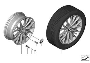 BMW LA wheel Y Spoke 380