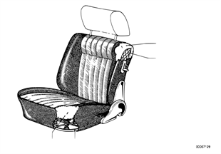 Lower seat parts