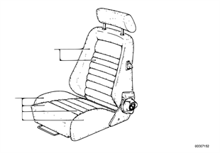 Recaro sp.s.-seat cover