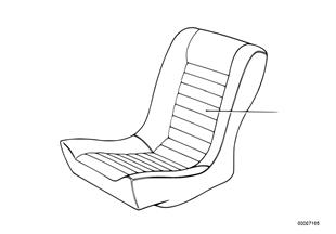 Επένδυση καθίσματος πίσω