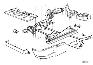 Σπορ κάθισμα BMW-ηλεκτ.ρύθ.ύψους καθίσμ.
