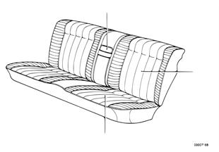 Funda de asiento trasero