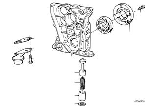 오일 공급/오일펌프,드라이브 포함