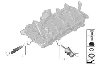 Culassa — peças adicionais/eléctricas