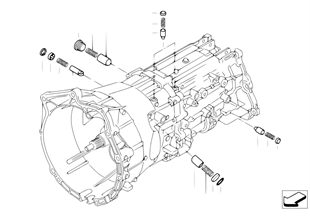 GS6X37BZ gangwissel onderdelen inner