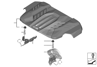 Cobertura para motor