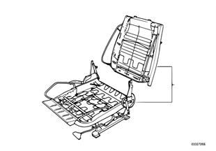 BMW スポーツ シート 修理用シート