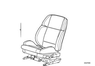 Κάθισμα εμπρός, πλήρες κάθισμα