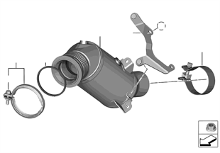 Katalysator motornah
