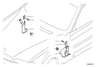 사이드 트림 패널,차실하부