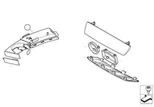 Piezas adosadas tablero de instrumentos