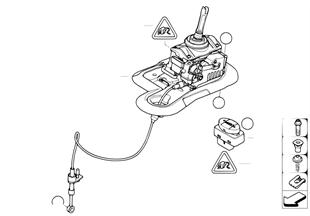 Schaltung Doppelkupplungsgetriebe