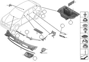Piezas de montaje de carrocería