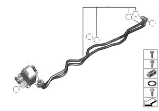 Теплообменник/трубопровод радиатора КПП