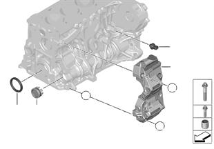 Cilinderblok/aanbouwdelen