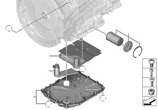 GS7D36SG cárter de aceite