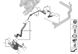 Système de refroid. turbocompresseur