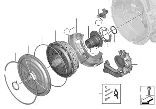 GS7D36SG çift kavrama / tahrik