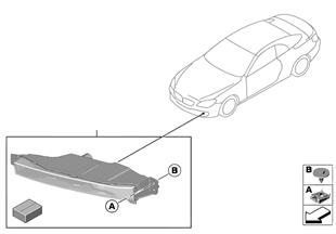 Dodatečná montáž mlhové světlomety LED