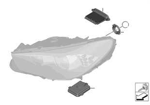 Scheinwerfer Elektronikteile/Lampen