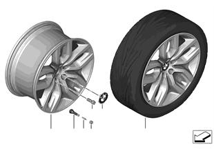 Л/с диск BMW c Y-обр.спицами диз.337