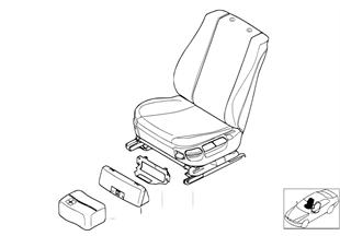 座椅 前部 完整座椅