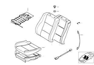 座椅 前部 座墊和座套
