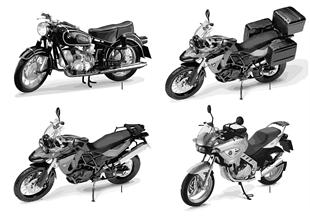 BMW Miniaturen - Motorrad 2010/11
