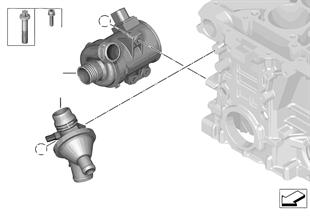 냉각시스템-물펌프/서모스탯
