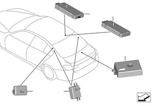 Losse delen antenneversterker