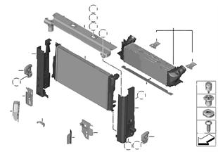 냉각시스템-쿨러 / 설치부품
