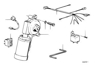 Electr.sliding lifting roof operation