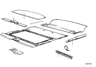 座墊蓋罩 活動天窗