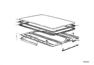Slid.lift. roof-cover/ceiling frame