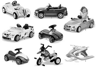 BMW Kinderprogramm - Fahrzeuge 2011/12