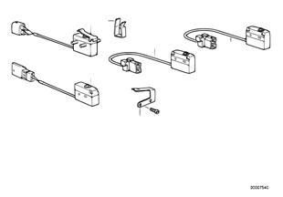 Micro-commutateur de capote electromecan
