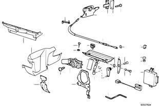 Pieces de capote electromecanique