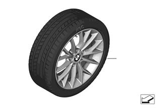 Winter wheel & tire set Y-Spoke 380