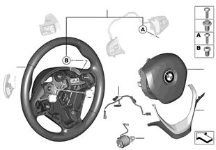 Vol. sport. airbag multifunz./paddels