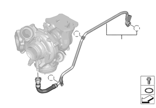 Cooling-system turbocharger