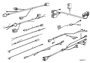 Diversas juego de cables adicional