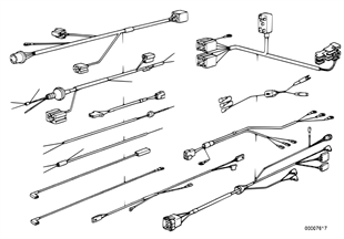 Kits de cabos adicionais diversos